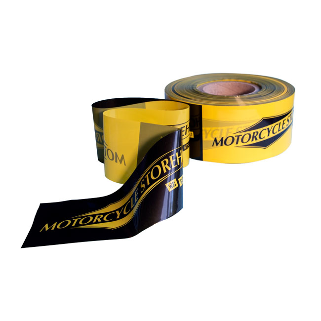 Motorcycle Storehouse, barrier tape black/yellow,bkr.mcsh.599204