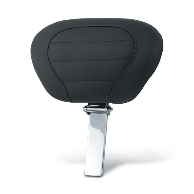 Mustang DeLuxe driver backrest pad & post,bkr.mcsh.558716