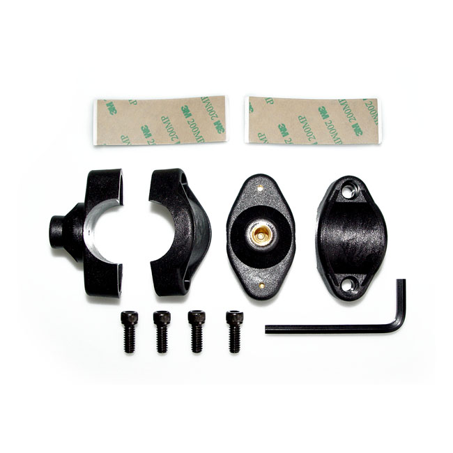 "NC 1"" / 25mm Quickset handlebar mount hardware kit,bkr.mcsh.8081364"