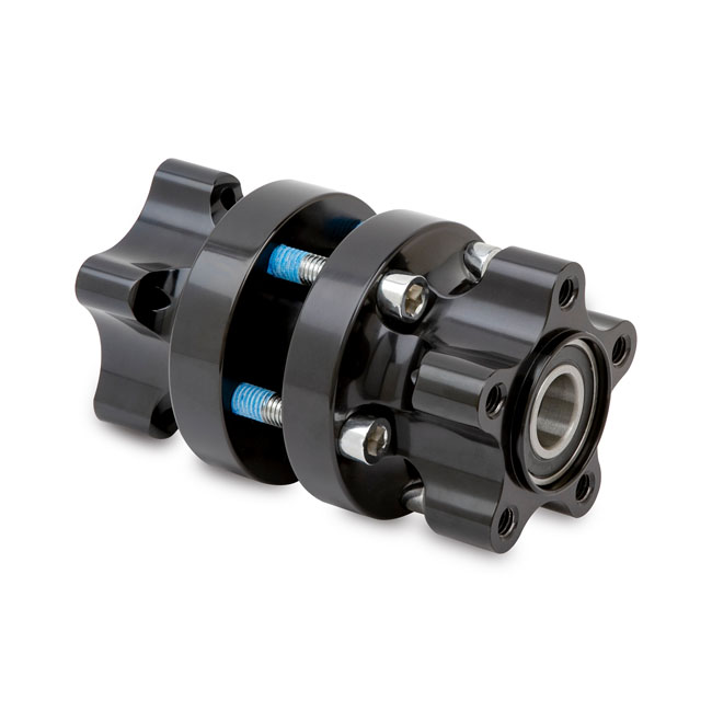 Ness wheel hub front black DF,bkr.mcsh.575230
