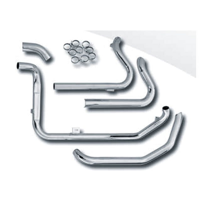 PAUGHCO INDEPENDENT DUALS, HEADPIPES,bkr.mcsh.906440