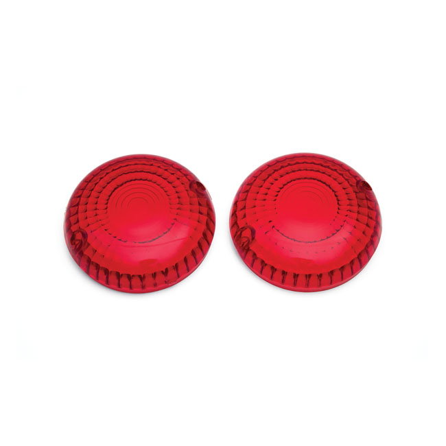 REPLACEMENT TURN SIGNAL LENSES, RED,bkr.mcsh.8082556