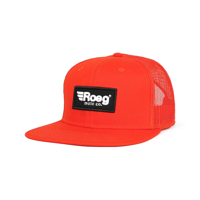 ROEG Blake flat panel cap orange,bkr.mcsh.569240