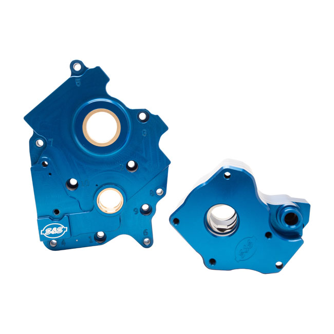 S&S OIL PUMP AND CAM SUPPORT PLATE KIT,bkr.mcsh.569179
