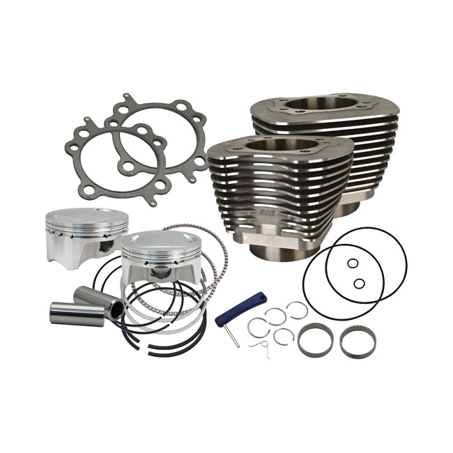 S&S TC 110 CYLINDER & PISTON KIT,bkr.mcsh.558662
