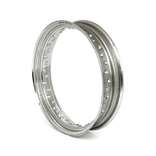 STAINLESS RIM, 3.50 X 23, 40 SPOKE,bkr.mcsh.571463