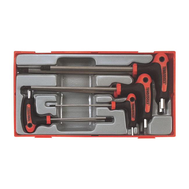 Teng Tools, allen T-wrench set,bkr.mcsh.521072