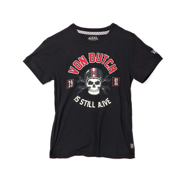 Von Dutch Rags T-shirt black (Fits: > size S)