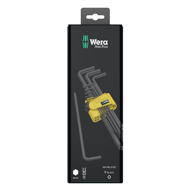 Wera hex key set blacklaser,bkr.mcsh.581756