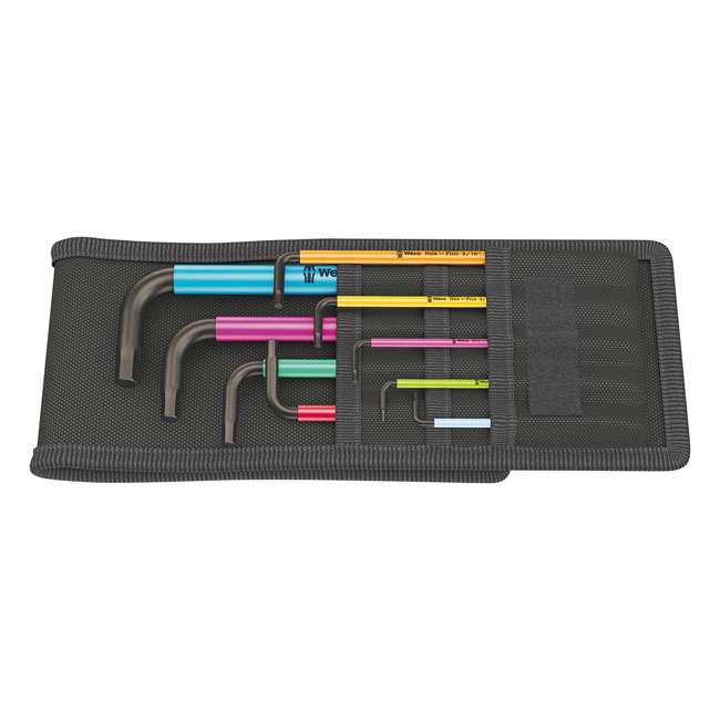 Wera hex key set multicolor,bkr.mcsh.581752