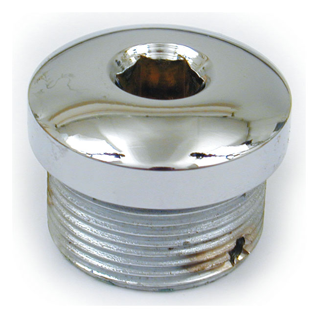 XL CLUTCH ADJ. PLUG, ALLEN. CHROME,bkr.mcsh.927061